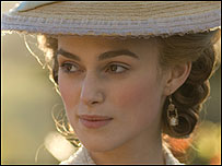 The Duchess starring Keira Knightley (Picture: Nick Wall)