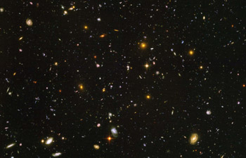 The Hubble Ultra Deep Field (credit: NASA, ESA, S. Beckwith (STScI) and the HUDF Team)