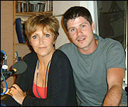 Judi with Seth Lakeman