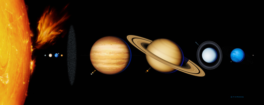 map our solar system without pluto - photo #2