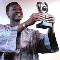 Bassekou Kouyate, winner of the Album of the Year and Africa categories 2008