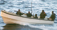 Modern day Somali pirates