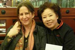 Barbara Demick and Mrs Song