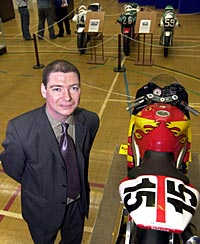 Keith Beattie, Museum manager, who created the exhibition