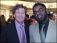 Melvyn Bragg and Mohammed Ali