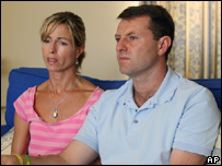 McCann parents being interviewed