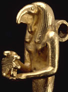 Amulet of Thoth in the British Museum