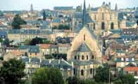 Photograph showing Poitiers, capital of Aquitaine