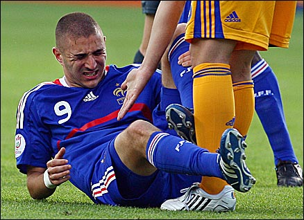 Benzema failed to shine against Romania and was substituted
