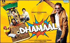 Dhamaal Dhamaal poster