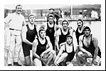 George Cornet, back row, extreme right, in 1912 Olympic team