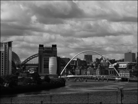 Tyne bridges. Photo: Steve Boote