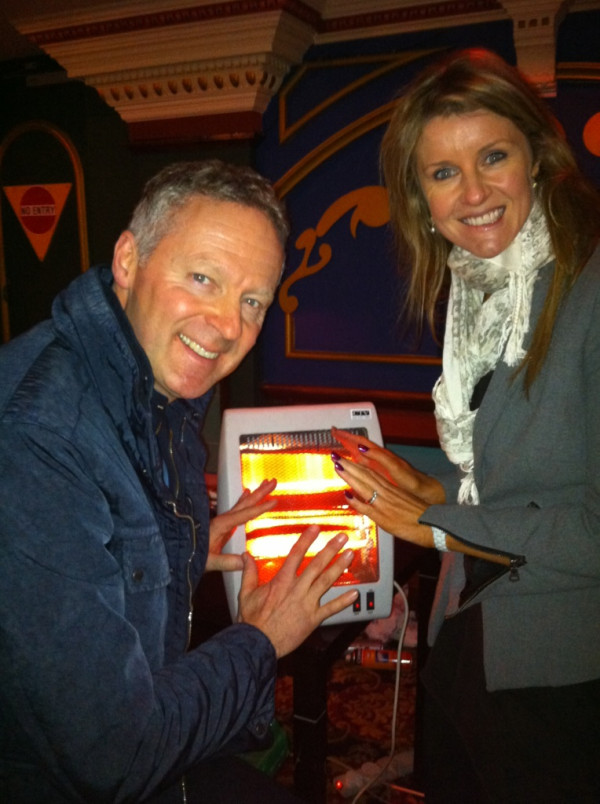 Rory Bremner and Erin Boag