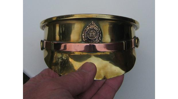 WW1 Trench art. Royal Engineers Cap