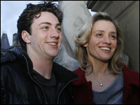 Aaaron Johnson and Anne-Marie Duff
