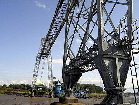 Transporter Bridge in Newport (photograph by Jonathan Crookes)