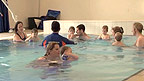A 'Water Babies' session