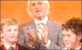 John Rockley, Jimmy Saville, and Philp Hoyles