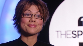 speaker mentor kate silverton being interviewed