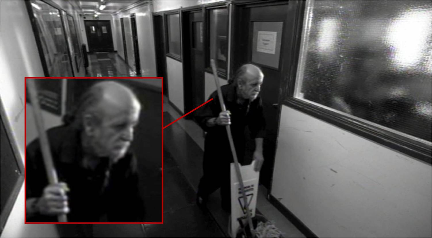 The Janitor on CCTV