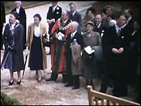 Noel Arkell opens Queens Park in 1953