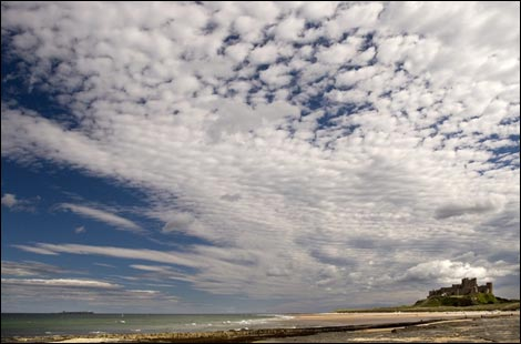 View of Bamburgh Castle. Photo: Tom Pugh