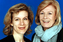 Juliet Stevenson with Vanessa Redgrave