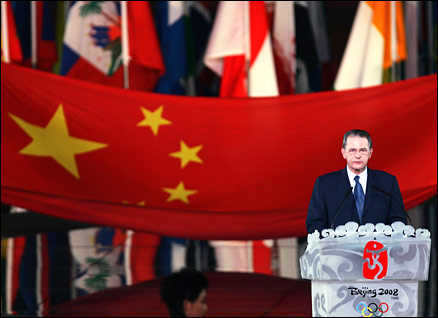 IOC president Jacques Rogge is sure China can deliver a memorable Olympics