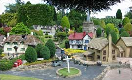 The model village at Bekonscot