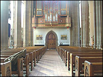 Inside St. Chad's
