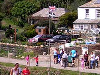 Boscastle - a year after the disaster.
