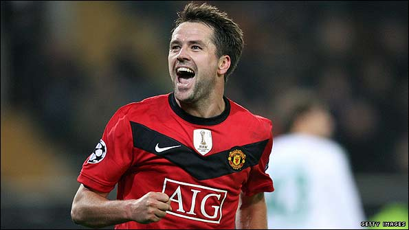 7ae9fe99a88 Michael Owen celebrates after completing his hat-trick