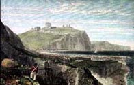 Dover from the Western Heights, from a work by JMW Turner, engraved by George Cook, 1826