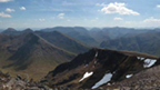 View from the top of Stob Coire Sgreamhach.