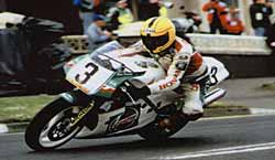 Joey Dunlop - Photo by Clifford McClean