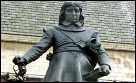Statue of Oliver Cromwell
