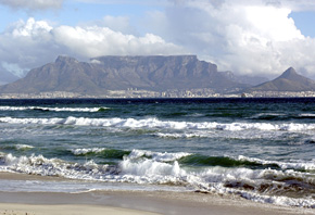 Cape Town, with Table Mountain, South Africa ©