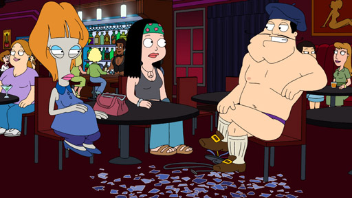 Watch American Dad on BBC Three starts Sunday, November 6 at 10pm.