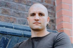 China Mieville, Author of Un Lun Dun, his first book for younger readers.
