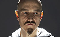 "Tim Booth (former lead singer of James) as Judas in 'Manchester Passion""."
