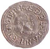 Image of a coin from Athelstan's reign