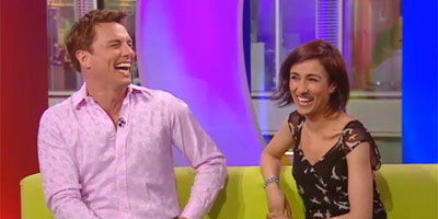John Barrowman and Anita Rani