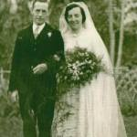 30th November 1940 - Mary Weightman marries Andrew Kennedy at Chengdu, central China.