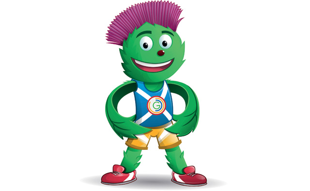 Clyde, the Glasgow 2014 Mascot, designed by Beth Gilmour