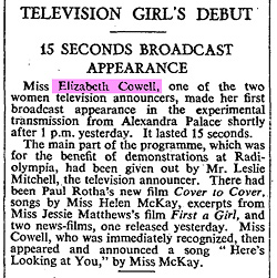Elizabeth Cowell reported in The Times