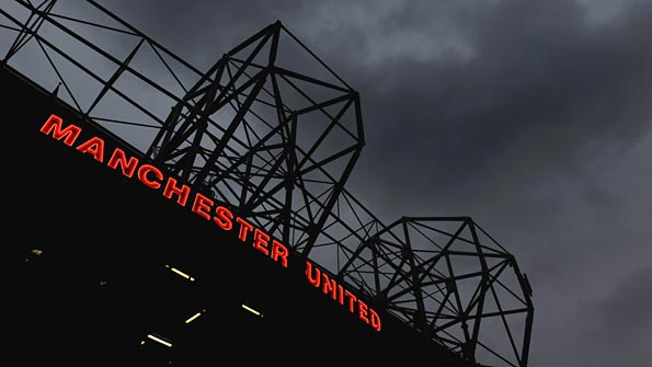 Manchester United reported a £80m annual loss