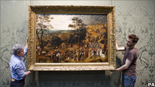 Breughel's Procession to Calvary