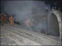 Banyak tambang batu bara di Cina kadang mengabaikan faktor keamanan