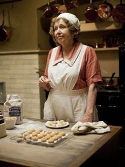 Anne Reid as Mrs Thackeray