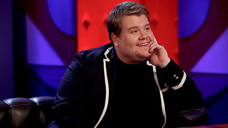 James Corden on Friday Night With Jonathan Ross (image: Hotsauce TV)